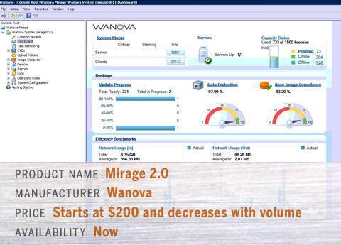 Wanova's Mirage 2.0