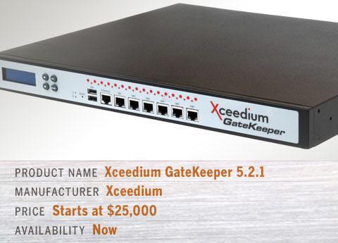 Xceedium GateKeeper 5.2.1