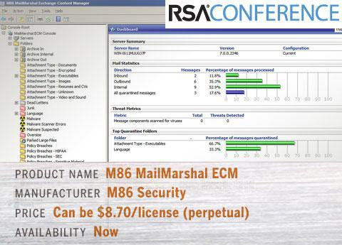 M86 MailMarshal ECM