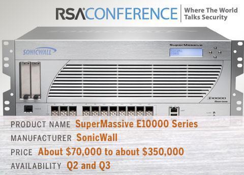 Sonicwall's SuperMassive E10000 Series
