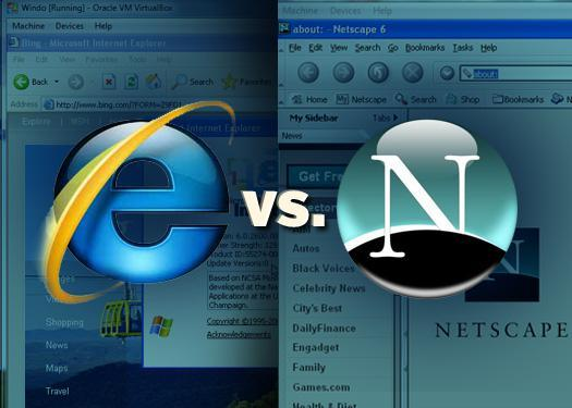 IE6 vs. Netscape