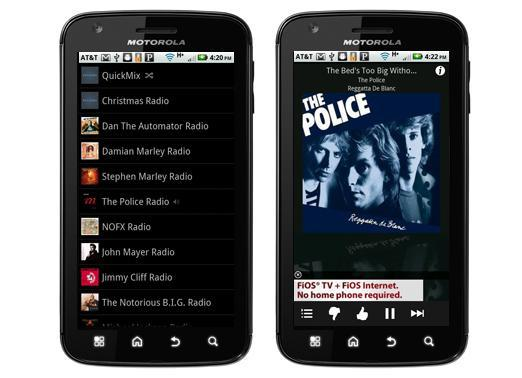 Pandora Radio for Android