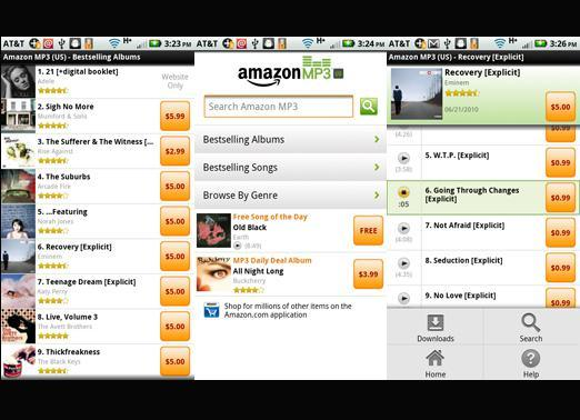 Amazon MP3 for Android
