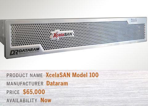Dataram\'s XcelaSAN Model 100