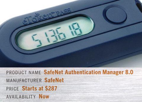 SafeNet Authentication Manager (SAM) 8.0