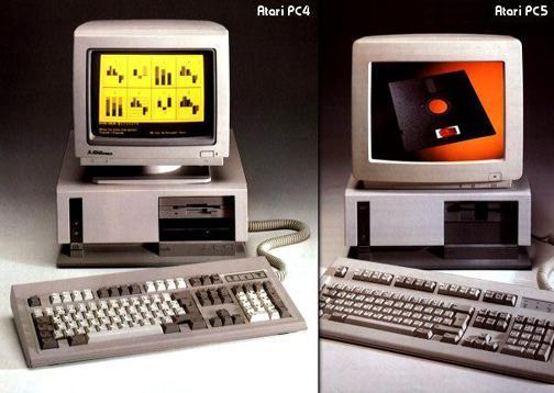 Atari PC4 (1987) / PC5 (1988)