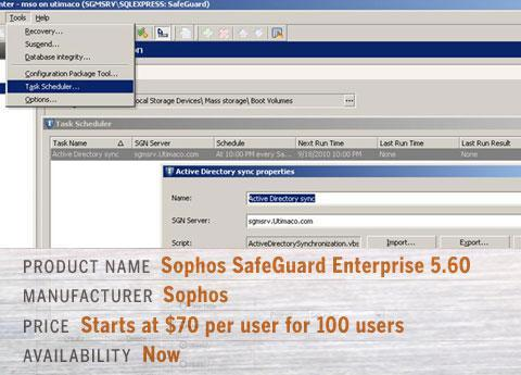 Sophos SafeGuard Enterprise 5.60