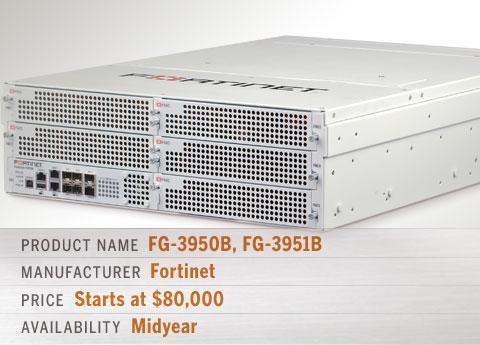 Fortinet's FG-3950B, FG-3951B