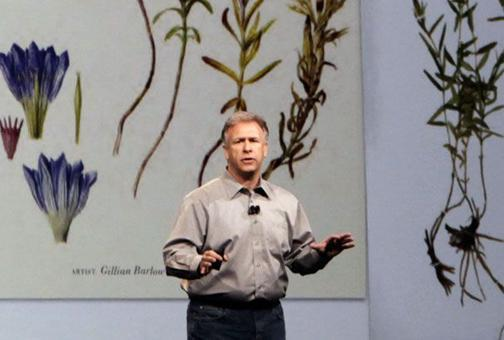 Phil Schiller Takes the Stage