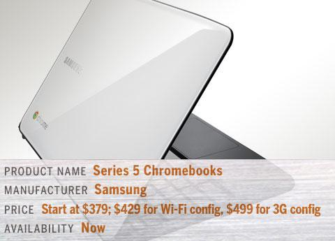 Samsung's Series 5 Chromebooks