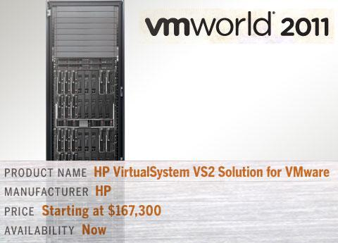 HP VirtualSystem VS2 Solution for VMware