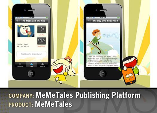 MeMeTales Publishing Platform