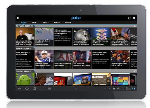 Pulse News for Android