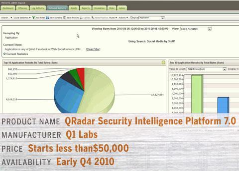 QRadar Security Intelligence Platform 7.0