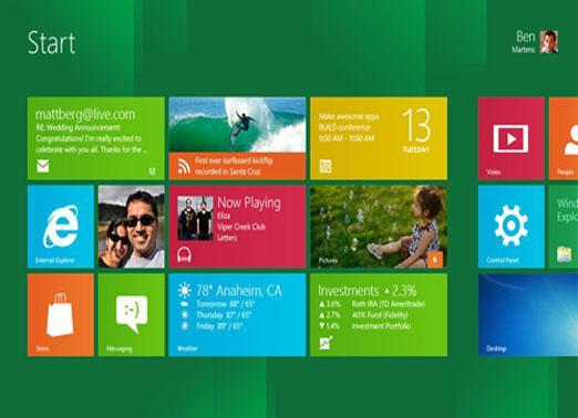 Windows 8 -- 2012