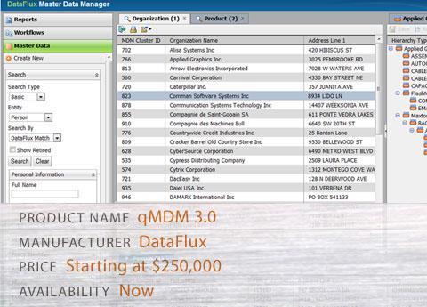 DataFlux's qMDM 3.0