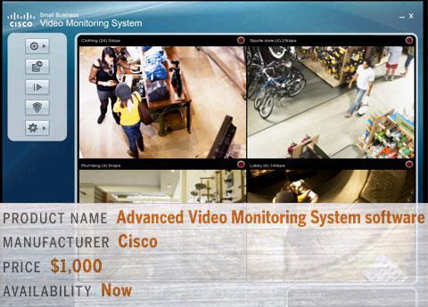 Cisco's Advanced Video Monitoring System software