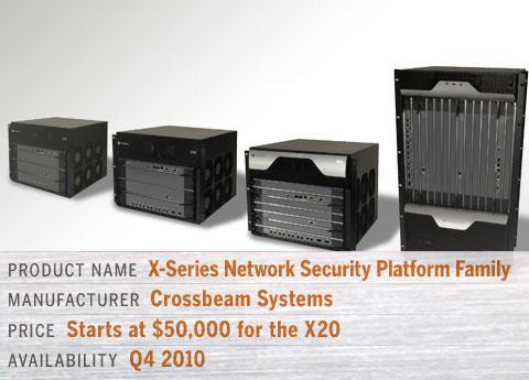 Crossbeam's X-Series Network Security Platform Family ? X20, X30, X60 & X80-