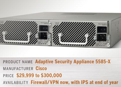 Cisco Adaptive Security Appliance 5585-X