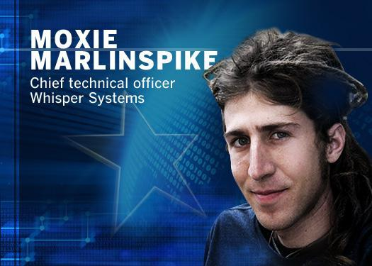 Moxie Marlinspike, chief technical officer Whisper Systems
