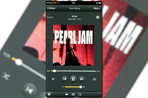 Kindle Fire: Music Player