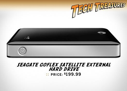 Seagate GoFlex Satellite external hard drive, $199.99