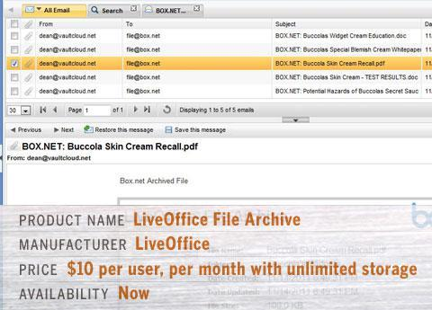 LiveOffice File Archive