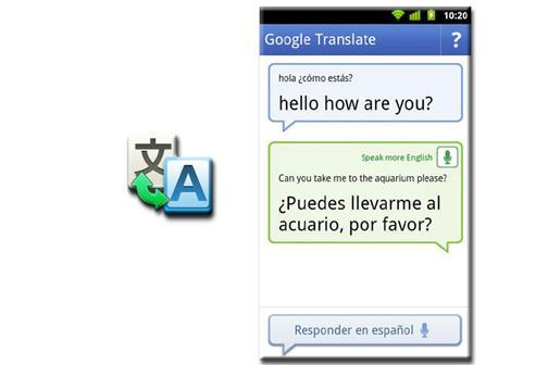 Google Translate Conversation Mode (productivity)