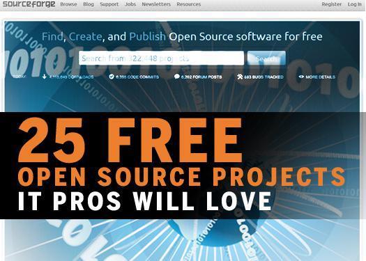 Gems hidden on SourceForge