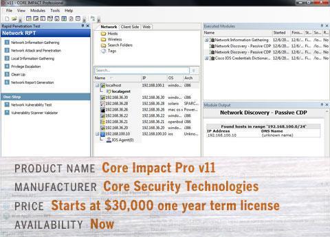 Core Impact Pro v11