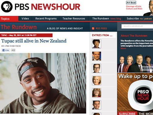 Tupac lives! Biggie too!