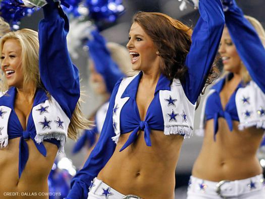 Cowboys cheerleader turns off the tweets