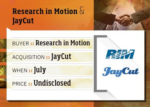 RIM buys JayCut
