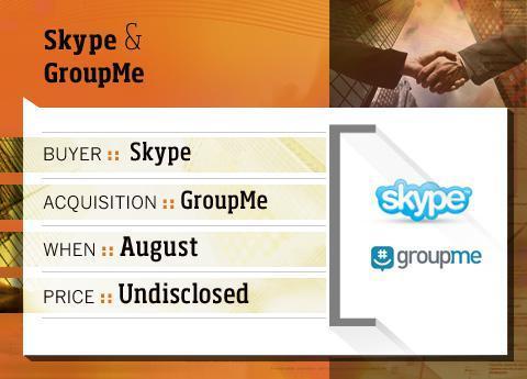 Skype buys GroupMe