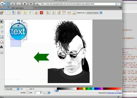 Vector graphics editor: SVG-edit 2.4