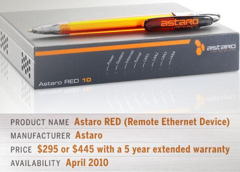 Astaro RED (Remote Ethernet Device)