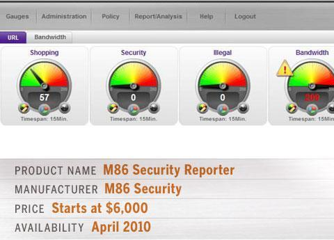 M86 Security Reporter
