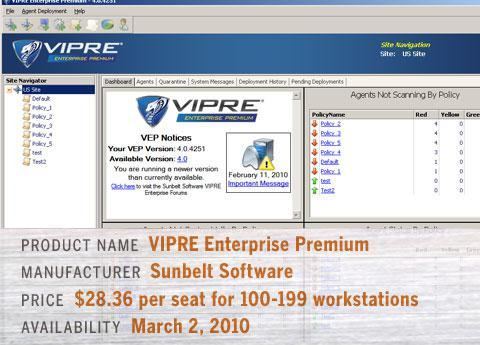 Sunbelt Software VIPRE Enterprise Premium