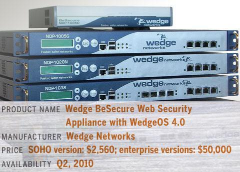 Wedge BeSecure Web Security Appliance with WedgeOS 4.0