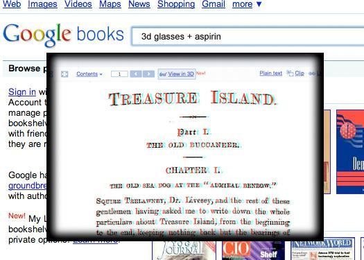 Google Books ? in 3D