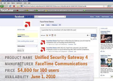 Face Time's Unified Security Gateway 4