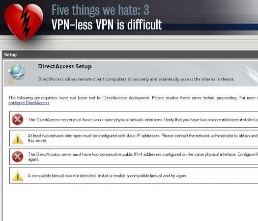 VPN-less VPN is difficult