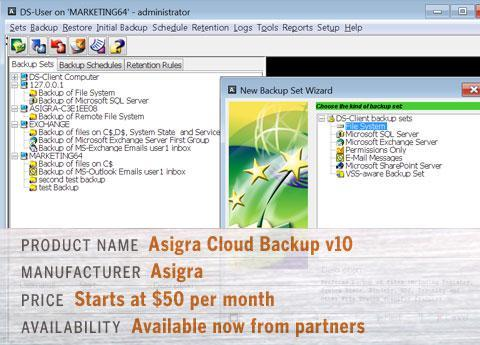 Asigra Cloud Backup v10