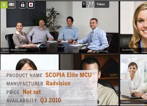 Radvision\'s SCOPIA Elite MCU
