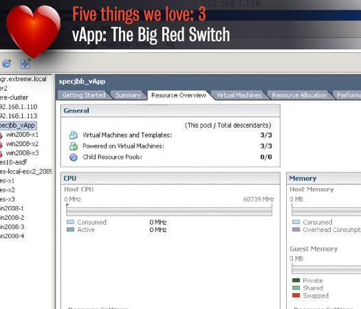vApp: The Big Red Switch