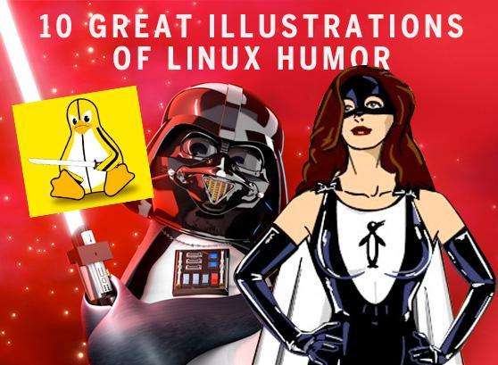 10 great illustrations of Linux humor | Network World