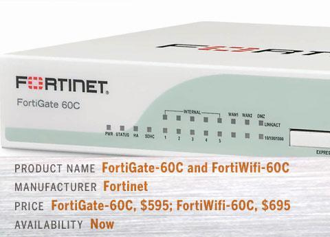 FortiGate-60C and FortiWifi-60C