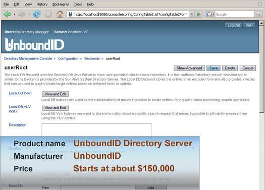 UnboundID Directory Server