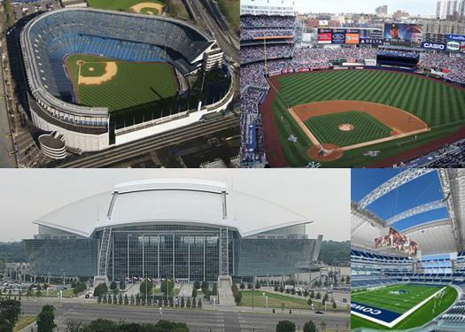 High-tech stadiums