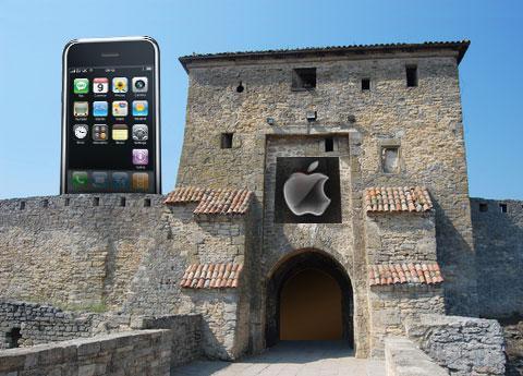 "The iPhone 3G is still a ""walled garden"""